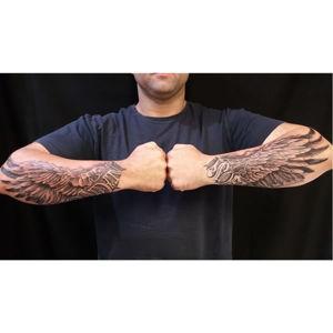 Ink Arcade Ink Arcade Tattoo Studio600_arm-wings